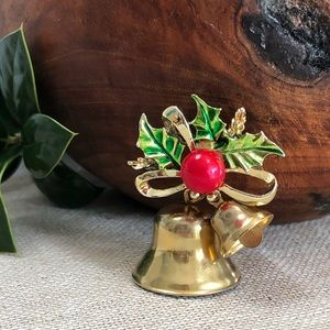 Gerry's Vintage Christmas Bell Brooch